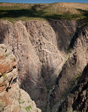 The Painted Wall - Black Canyon of the Gunnison National Park
