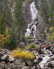 Fish Creek Falls, just outside of Steamboat Springs, Colorado.